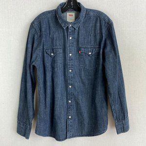 LEVI Dark Denim Shirt
